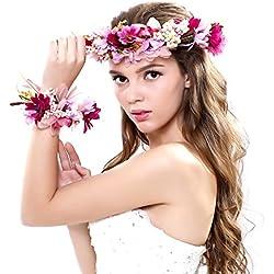 Ever Fairy - Cinta para el pelo - para mujer, Púrpura, Talla única