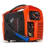MIG/ARC Welder Inverter Gas/Gasless MMA 3-in-1 IGBT 240V 200 amp DC – Röhr MIG-200MI