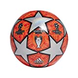 adidas Finale M TCPT Soccer Ball, Hombre, Top:Multicolor/Active Scarlet Red Bottom:Bright Orange/Solar Gold/Black, 5