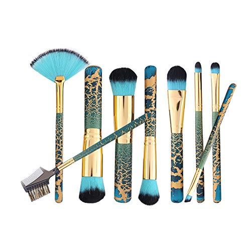 Eyebrow Brush Makeup Brush Kit Cosmetic Brush Kit Highlight Brush Eyeshadow Brush Foundation Concealer Brush Fan Brush