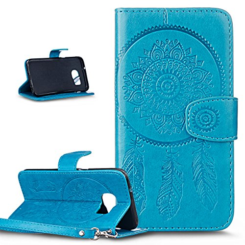 galaxy-s7-edge-casewallet-case-for-galaxy-s7-edgeikasus-embossing-dream-catcher-ethnic-tribal-feathe