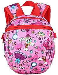 Preisvergleich für PENGYUE Kinderrucksack Kindergartenrucksack Kinder Rucksack Bestickt mit Tier Bunt Stickerei Karikatur Niedlicher...
