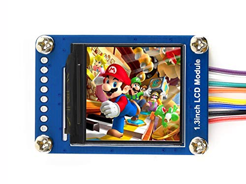 Waveshare General 1.3inch LCD Display Module IPS Screen 240x240 HD Resolution SPI Interface RGB 65K Color