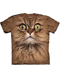Tee shirt enfant Chat - Big Face Brown Cat