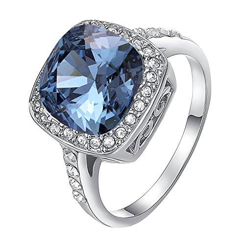 Yoursfs  -    18K weißvergoldetes Basismetall     Diamant  (Diamant-septum-schmuck)