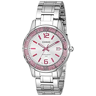 Casio Enticer Analog Silver Dial Women's Watch – LTP-1359D-4AVDF (A809)