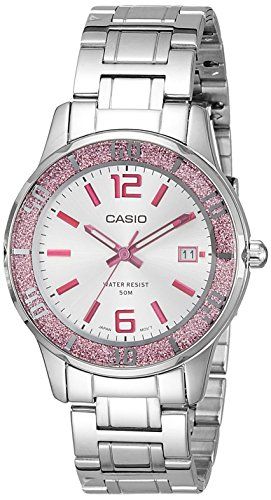 Casio Enticer Analog Silver Dial Women's Watch - LTP-1359D-4AVDF (A809)
