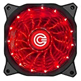 Best Fan For Cooling - Circle 120MM High Quality 15 LED (RED LED) Review