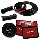 WonderPana FreeArc Core - Rotating Filter System Holder Core Unit Only for the Panasonic Lumix G Vario 7-14mm f/4.0 Aspherical Lens (Micro Four Thirds Format)
