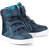Hummel Kinder (Jungs) Boots SUPER Poly Boot blau Synthetik/Textil-Mix 35