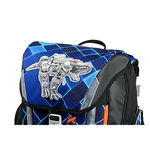 51THpL5SoAL. SS300  - Angry Birds School Backpack Set 4/1 Soft Robo Rex 78303 Mochila Infantil 40 Centimeters 24 Multicolor (Blue and Black)