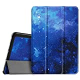 Fintie Samsung Galaxy Tab S2 8.0 Custodia - Ultra Sottile Di Peso Leggero Tri-Fold Smart Case Cover Sleeve Con Funzione Sleep/Wake per Tablet Samsung Galaxy Tab S2 8.0' (8 pollici) Tablet, Starry Sky