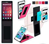 Jiayu F2 Hülle in pink - innovative 4 in 1 Handyhülle -