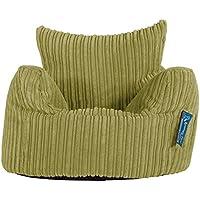 Preisvergleich für Lounge Pug®, Kindersessel Sitzsack, Sitzsack Kinder, Cord Hellgrün