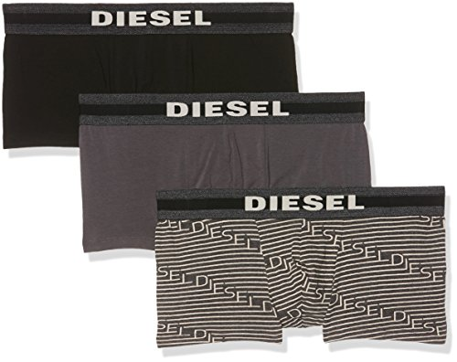 Diesel Stretch-slip (Diesel Herren Shorts 0wanm/01 3er Pack, Mehrfarbig, Medium)