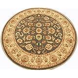 Runder Orient Teppich Ziegler ca. 214 cm Ø Grün - feine Qualität - moderner Teppich - oriental round carpet Zigler best quality