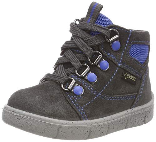 Superfit Baby Jungen Ulli Sneaker, Grau (Grau/Blau 20), 25 EU