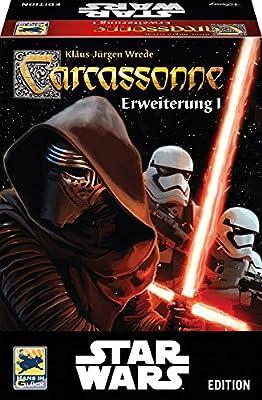 Hans im Glück 48260 Jeu de Famille Carcassonne - Star Wars Expansion 1