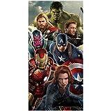 BRAND NEW 100% OFFICIAL KIDS CHILDREN DISNEY CHARACTER BEACH BATH SWIM TOWEL (Avengers Assemble)