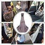 51THtshromL._SS150_ AGPTEK Ownpets Hundetransporttasche Unterstüzung von 8kg bis zu 10kg Hundetragetuch Single Schulter Sling Bag für Haustier Hund Katze