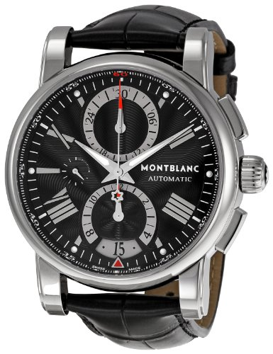 Montblanc 102377 - Reloj de Pulsera Hombre, Color Negro