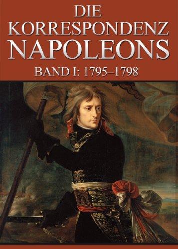 Buchseite und Rezensionen zu 'Korrespondenz Napoleons - Band I: 1795-1798' von Napoleon Bonaparte