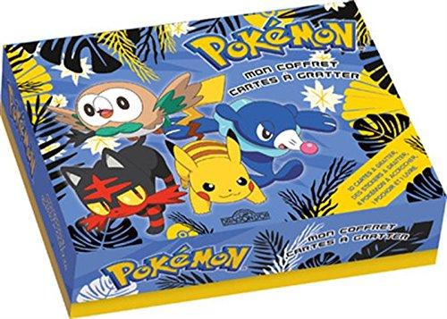 Pokémon - Mon coffret cartes à gratter