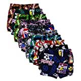 #2: Kids Basket Baby Boys and Girls Printed 100% Cotton Briefs Inner Underwear Panty Combo Pack of 10 Pc - Offer Sale