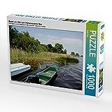 Boote am Ufer vom Hohennauener See 1000 Teile Puzzle quer: Boote am Ufer vom Hohennauener See (Havelland, Deutschland) (CALVENDO Natur)