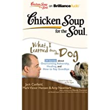 Chicken Soup for the Soul: What I Learned from the Dog - 34 Stories about Overcoming Adversity, Healing, Saying Goodbye