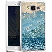 Samsung Galaxy A5 (2015) Silikon Hülle Case Schutzhülle Berglandschaft Berge Sea