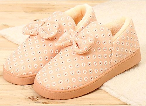 LEPAKSHI Photo Color, 5 : Winter Foot Warmer Soft House Slippers Women Home kawaii Shoes Indoor Cute Korean Slippers pantufa zapatillas de casa chaussons