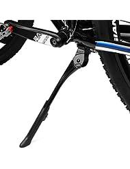 BV Pata de Cabra Ajustable para Bicicletas con por Resorte Oculto Pestillo, 24-29 pulgadas, Negro – BV-KA76-BK