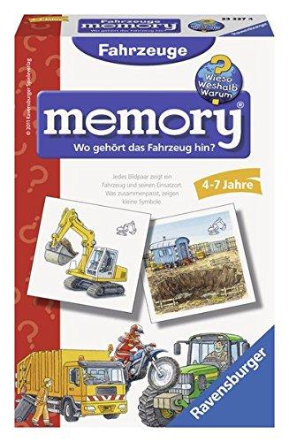 Wieso? Weshalb? Warum? Fahrzeuge memory: Fahrzeuge und ihre Einsatzorte