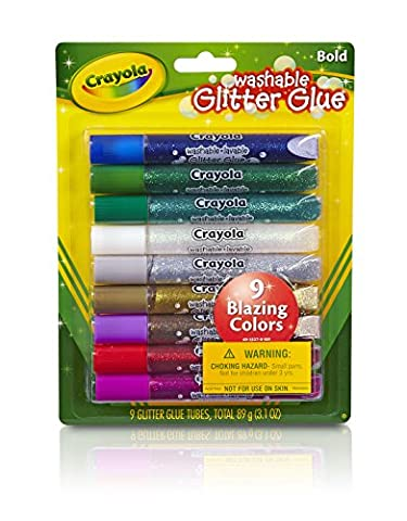 Crayola Washable Glitter Glue Pens (Doppio Glitter)