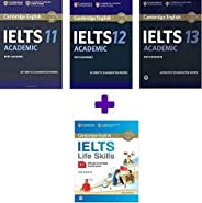 IELTS 11 Academic + IELTS 12 Academic + IELTS 13 Academic (Combo of 11,12,13 Academic ) Authentic Examination