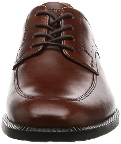 Rockport Herren Dp Modern Apron Toe Derby Braun (NEW BROWN)