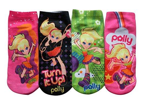 gillbro-4-pares-polly-pocket-algodon-lindo-de-la-muchacha-blend-calcetines-del-tobillo-por-5-8-anos-