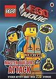 The LEGO Movie: Master Builders Attack Sticker Book