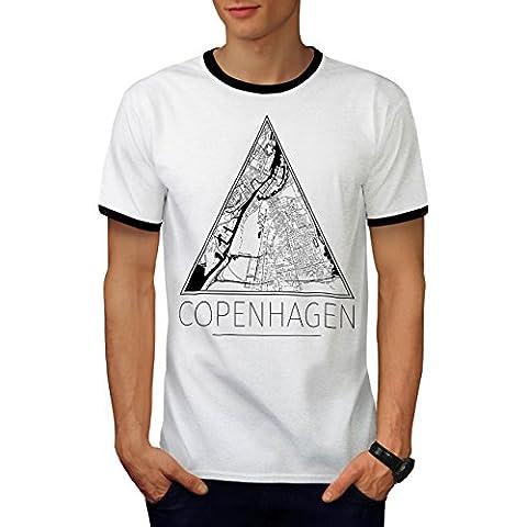 Denmark Copenhagen Men M Ringer T-shirt   Wellcoda