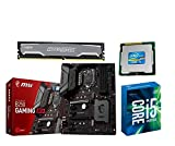 Aufrüstkit MSI B250 Gaming M3+i5-7600k+16GB Ballis Desktop PC (Intel Core i5, 16GB RAM, Intel HD Grafik 630) Grau