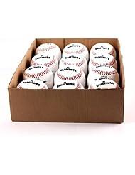 barnett LL-1 balle de baseball compétition/entraînement, 9'', blanc, 1 douzaine