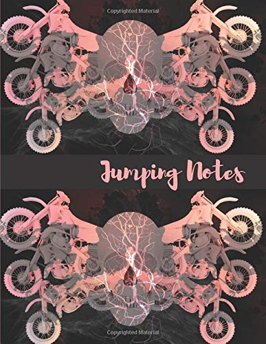 Jumping Notes: College Ruled Motocross Notebook por E. Meehan