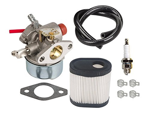 OuyFilters Carburetor With 36905 Air Filter Fuel Line Tune-Up Kit for Toro 20016 20017 20018 6.75HP LV195EA LV195XA Recycler Lawn Mower Carb -