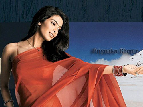 Priyanka Chopra in Saree Poster