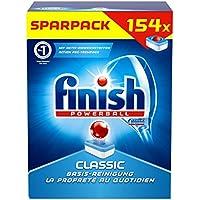 Finish/Calgonit Classic Sparpack, Spülmaschinentabs, Spülmaschine, Geschirr, Geschirrspüler, Spülen, Reinigung, 154 Tabs