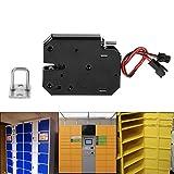 DC 12 V 2A Schublade Elektrisch Magnetschloss Elektromagnet Fail-Safe für Tür Zutrittskontroll System mit Erkennen Schalter