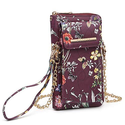 Damen Fashion Kleine Umhängetasche, Umhängetasche, Geldbörse, mehrere Taschen für Handy