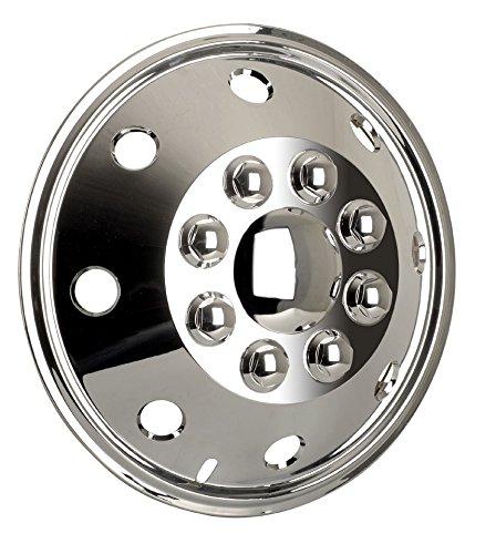 Radzierblendenset (4 Stück) chrom 15 Zoll universell passendes Set Wohnmobile PKW Transporter (15 Zoll). (Wohnmobil 15)