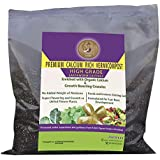 Shehri Kisaan Calcium Rich Earthworm Castings Vermicompost Complete Plant Food 5 kg Pack Enriched with Organic Growth Booster Granules with Cocopeat for Indoor Outdoor Gardening Organic NPK Substitute